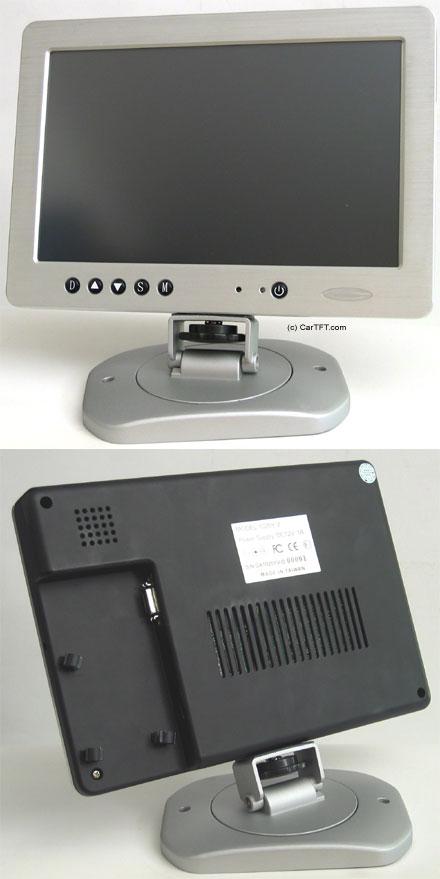 """1020TSV -- TFT 10.2"""" -- VGA und PAL/NTSC -- mit Touchscreen USB"""