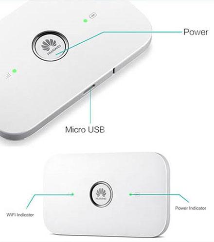 Huawei E5573Cs-322 WLAN Mobile Hotspot (3G/4G/LTE EU , weiß, ohne SIMLOCK)