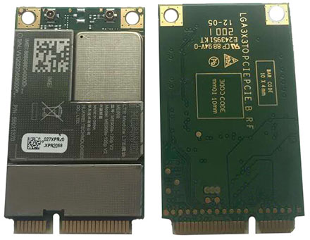 HSPA / UMTS / EDGE / LTE 4G Mini-PCIe Modem (Huawei ME909s-120p V2)
