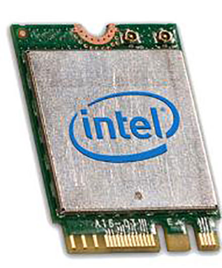 Wireless LAN / Bluetooth M.2 [Intel Wireless-AC 3165 Combo]