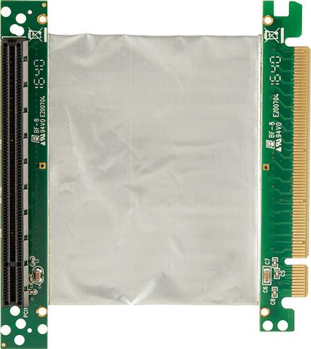 PCE170 PCIe(x16) Riser flexibel (100 mm)