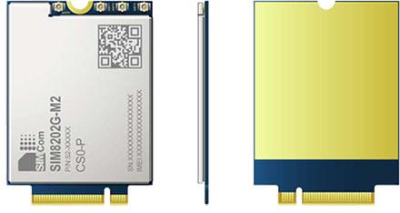Simcom SIM8202G-M2 3G/4G/LTE/ 5G M.2 NGFF Modem
